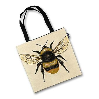 Mcalister textiles queen bee tapestry tote bag