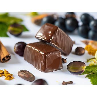 Swiss-QUBE Diätriegel - Gewichtskontrolle | Abnehmen ohne zu Hungern auf natürlicher Basis | Geschmack Yagi | 56 Swiss-Qubes - Wochenration