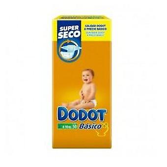 Dodot Basic Diaper Size 3 of 4-10 kg 50 Units (Baby & Toddler , Diapering , Diapers)