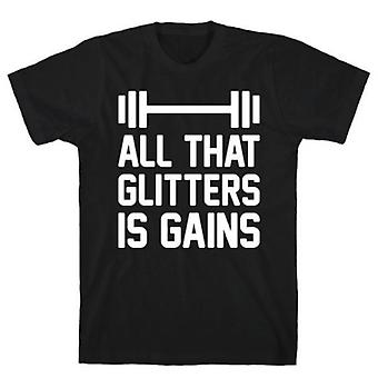 All that glitters is gains t-shirt