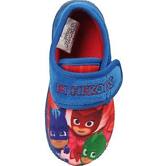 PJ Masks Boys Pierce Touch Close Slippers