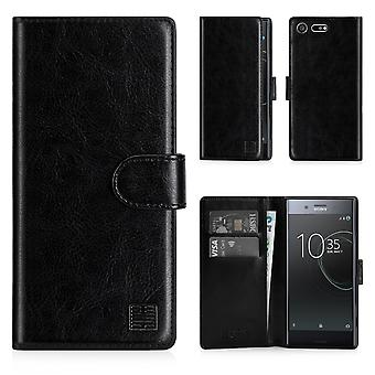 32nd Book wallet case + stylus for Sony Xperia XZ Premium - Black
