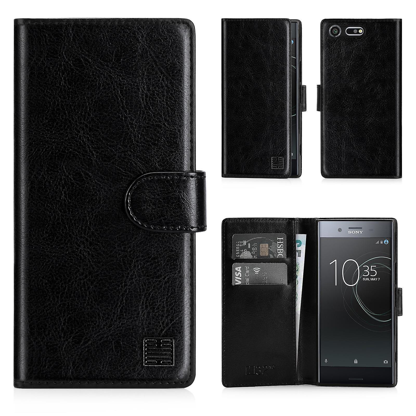 32nd Book wallet case + stylus for Sony Xperia XZ Premium - Black