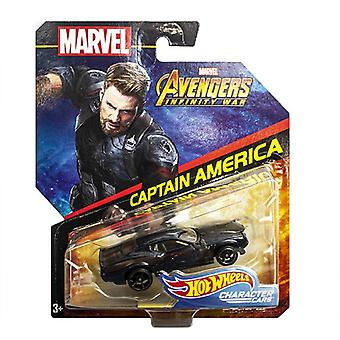 Marvel Avengers, Hot Wheels - Captain America