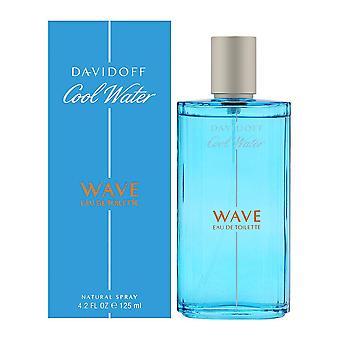Koldt vand bølge af davidoff for mænd 4,2 ounce eau de toilette spray