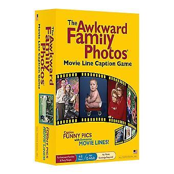 Den akavede familie fotos flytte linje billedtekst spil