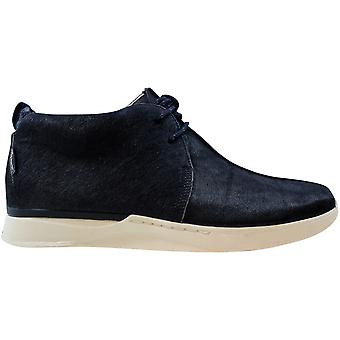 Clarks Traxter Gray Navy Leather 26104688 Men's