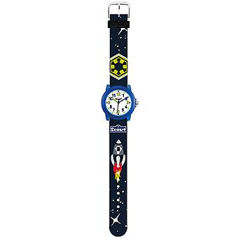 Scout Kids Watch Learning Clock Crystal - Space Boys 280305037