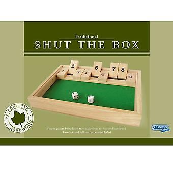 Gibsons Traditionele Shut The Box