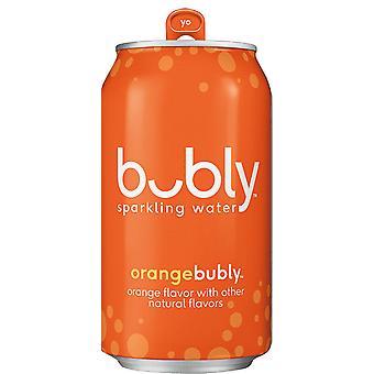 Bubly Orange Gnistor -( 355 Ml X 12 Burkar )