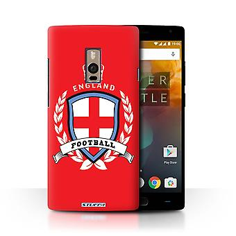 STUFF4 Case/Cover for OnePlus 2/Two/England/English/Football Emblem