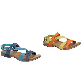 Riva Womens/dames Debs Buckled Sling terug sandaal