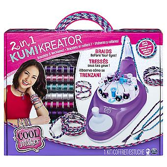 Cool Maker 2-in-1 KumiKreator Necklace and Friendship Bracelet Maker