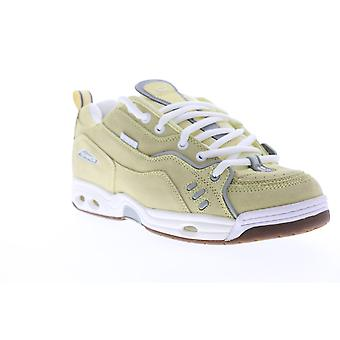 Globe CT IV Classic  Mens Yellow Suede Lace Up Athletic Skate Shoes