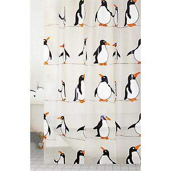 企鹅设计师 Peva 浴帘 180 × 180 厘米