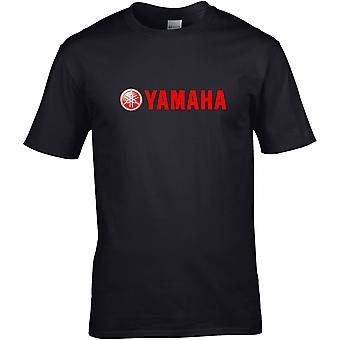Yamaha Metallic - Motorcycle Motorbike Biker - DTG Printed T-Shirt