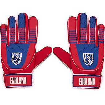 England Official Football Gift Kids Youths Goalkeeper Goalie Gloves