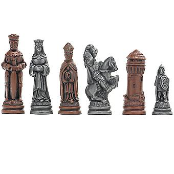 Berkeley Chess Camelot Metallic Chess Men