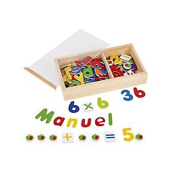 Goki magnetiska bokstäver och siffror