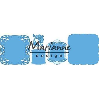 Marianne Design Creatables Cutting Dies - Anja's Ornamental Frame LR0484