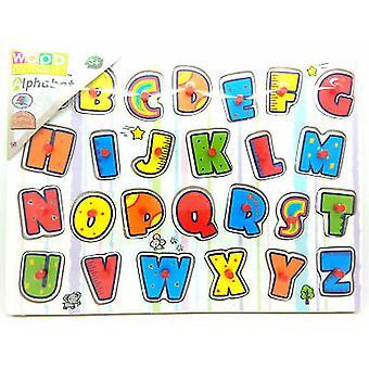 Wooden Alphabet Letters Jigsaw Puzzle Kids
