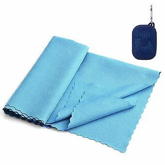 Szybki ręcznik z mikrofibry huragan z pudełkiem - 90x32 cm