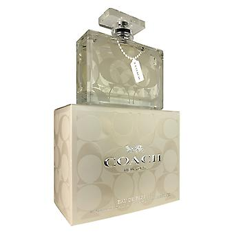 Coach new york para mujer por interparfums 3.3 oz eau de parfum spray natural