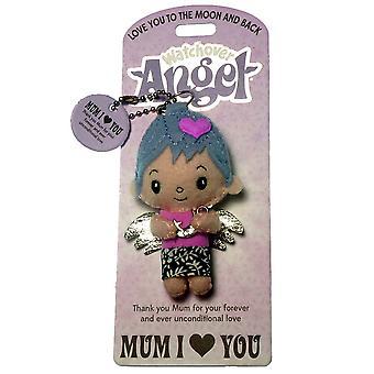 Watchover Angels Mum I (coeur) You Angel Keyring