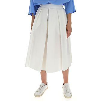 Ballantyne Qlg037ucl2410156 Women's White Cotton Skirt