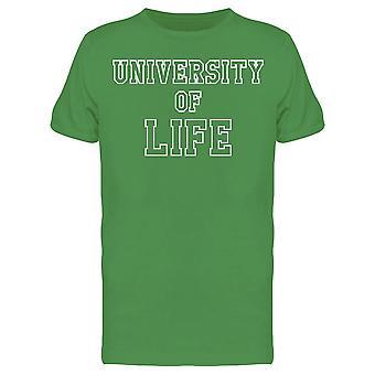 University Of Life Graphic Men's T-shirt