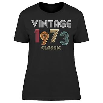Classic Vintage Sedan 1973 Women's T-shirt