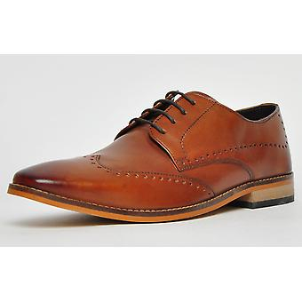 Ikon Classic Howard Leather Tan Brown / Spice