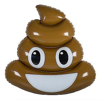Brinquedo de banho inflável - Emoji de cocô