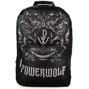 Rock Sax Powerwolf Crest Rucksack Black Backpack
