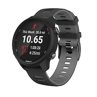 Silicone strap - Garmin Forerunner 245 and more - Black