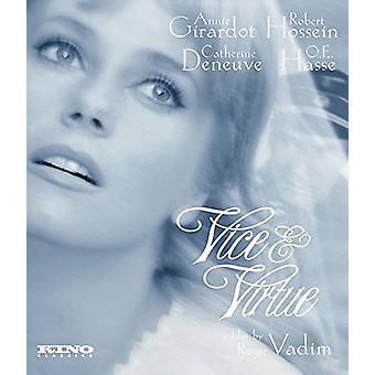 Vice & Virtue [BLU-RAY] USA import