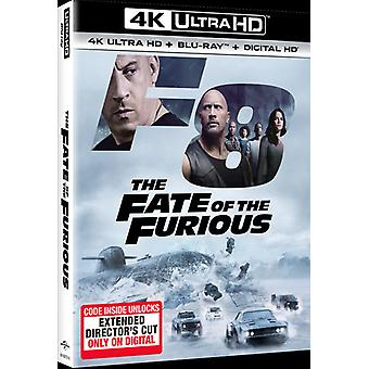 Ödet av Furious [Blu-ray] USA import