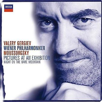 Gergiev/Vienna Philharmonic Orch. - Moussorgsky: Pictures at an Exhibition; Night on the Bare Mountain [CD] USA import