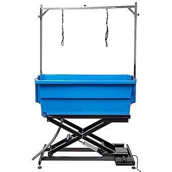 Groom Professional Nero Plastic Electric Blue Bath Tub