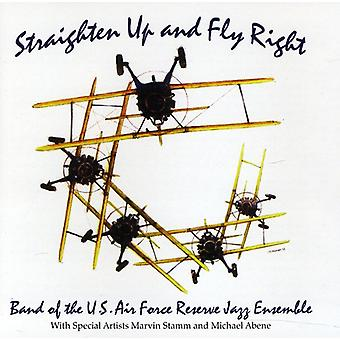 Band of the U.S. Air Force Reserve Jazz Ensemble - Straighten Up & Fly Right [CD] USA import