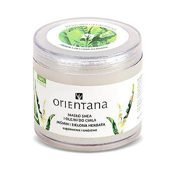 Shea Butter With Oils Jasmine & Green Tea, 100G