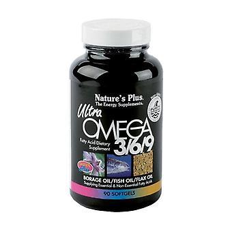 Ultra Omega 3-6-9 90 softgels