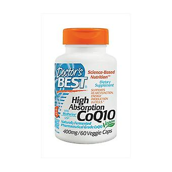 High Absorption CoQ10 with BioPerine, 400mg 60 vegetable capsules