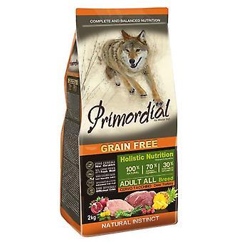 Primordial Pienso para Perro Adult Ciervo y Pavo (Dogs , Dog Food , Dry Food)