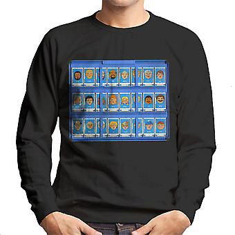 Hasbro Guess Who Blue Board Men's Sweatshirt