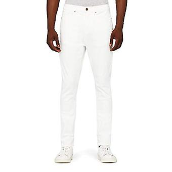 MERAKI Men's Standard Stretch Skinny Jeans, White, W36 x L30
