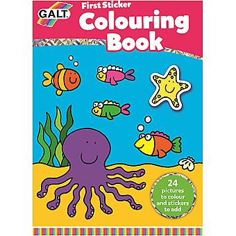 Galt First Sticker Colouring Book