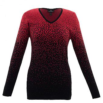 MARBLE Marble Red Sweater 5825