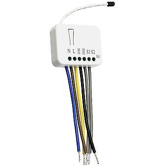 Z-Wave Recessed Switch 2x1,5kW