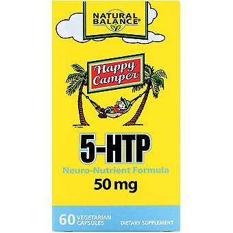 Natural Balance, Happy Camper, 5-HTP, 50 mg, 60 capsules végétariennes
